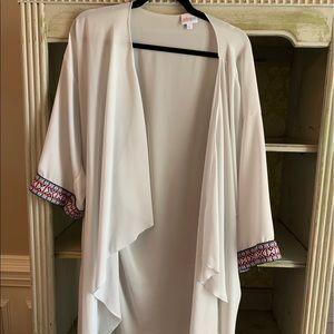 LuLaRoe Sweaters - Lularoe Shirley cardigan - size L.